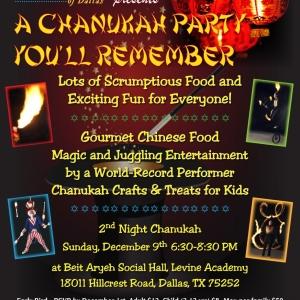 Sephardic Chanukah Party
